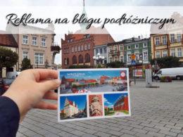 Reklama na blogu podróżniczym
