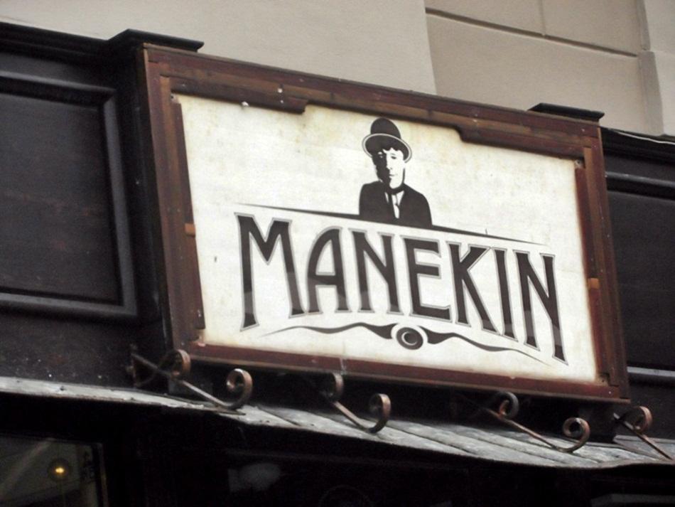 Manekin w Toruniu