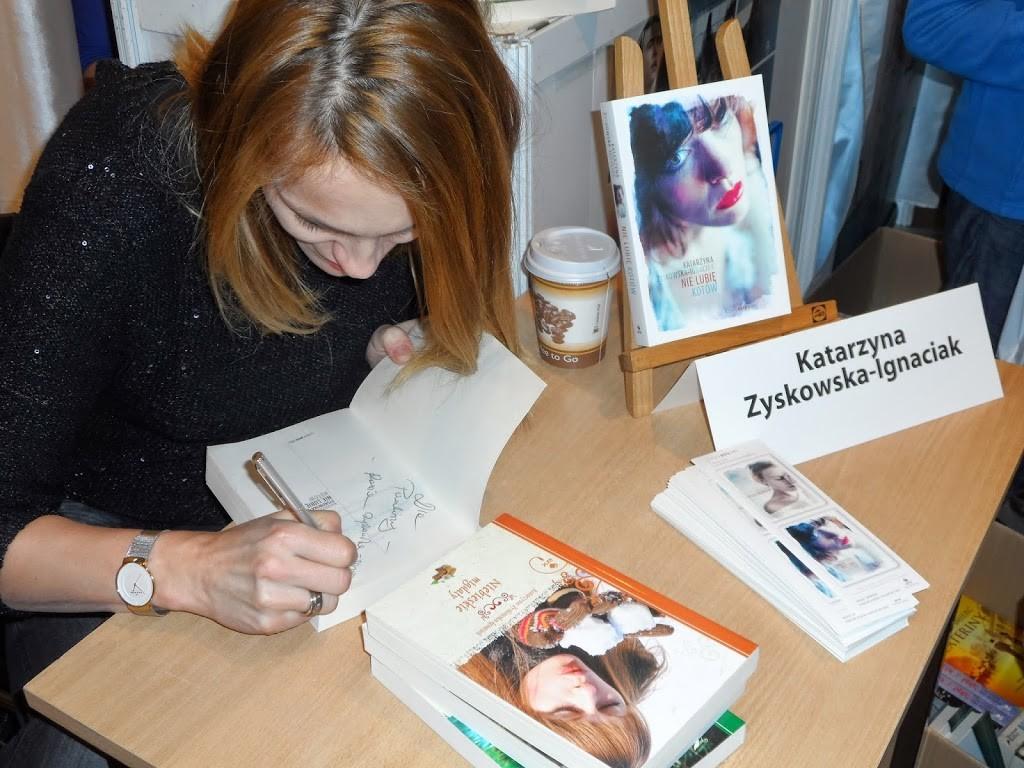 Spotkanie autorskie z Katarzyną Zyskowską-Ignaciak