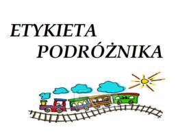 Etykieta podróżnika
