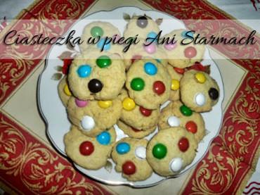 Ciasteczka w piegi Ani Starmach. Bardzo smaczne i proste w przygotowaniu