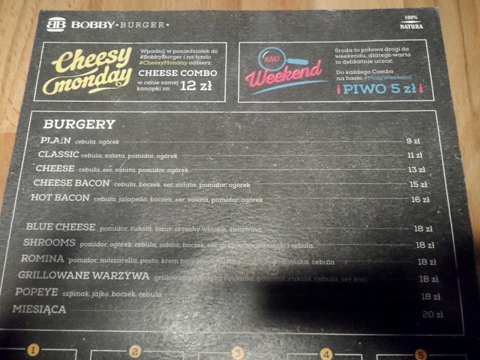 Bobby Burger w Bydgoszczy
