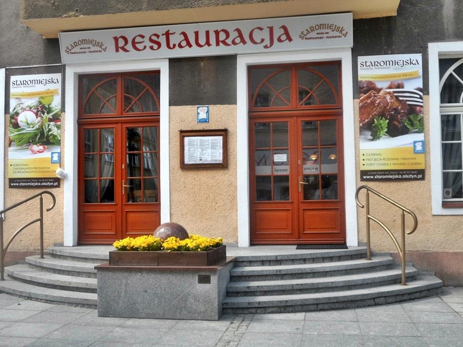 Restauracja Staromiejska w Olsztynie
