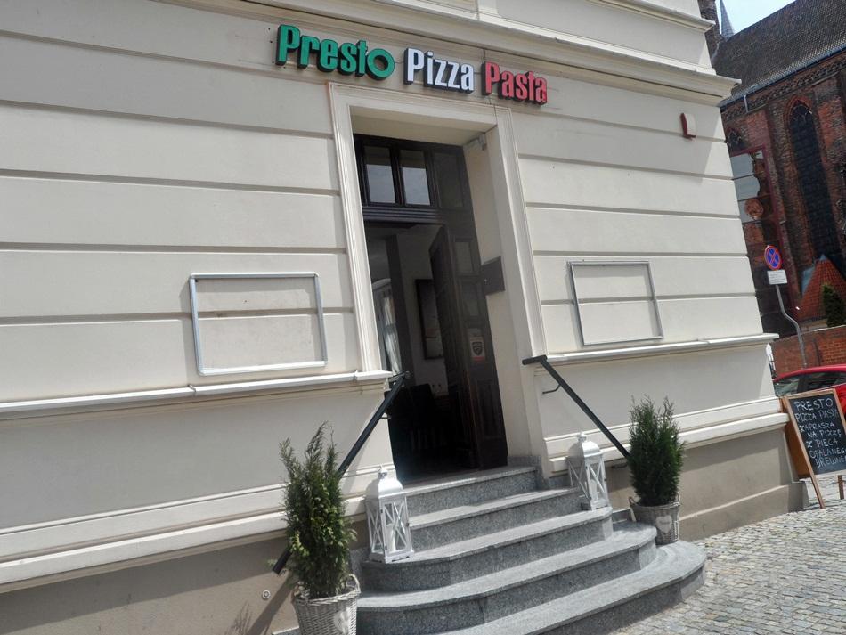 Presto Pizza Pasta w Toruniu
