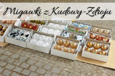 Migawki z Kudowy-Zdroju. Tutaj sprzedają bombki w lipcu?