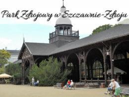 Park Zdrojowy w Szczawnie-Zdroju. Miejsce z ogromnym stawem