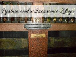 Pijalnia wód w Szczawnie-Zdroju. Spróbuj miejscowych wód