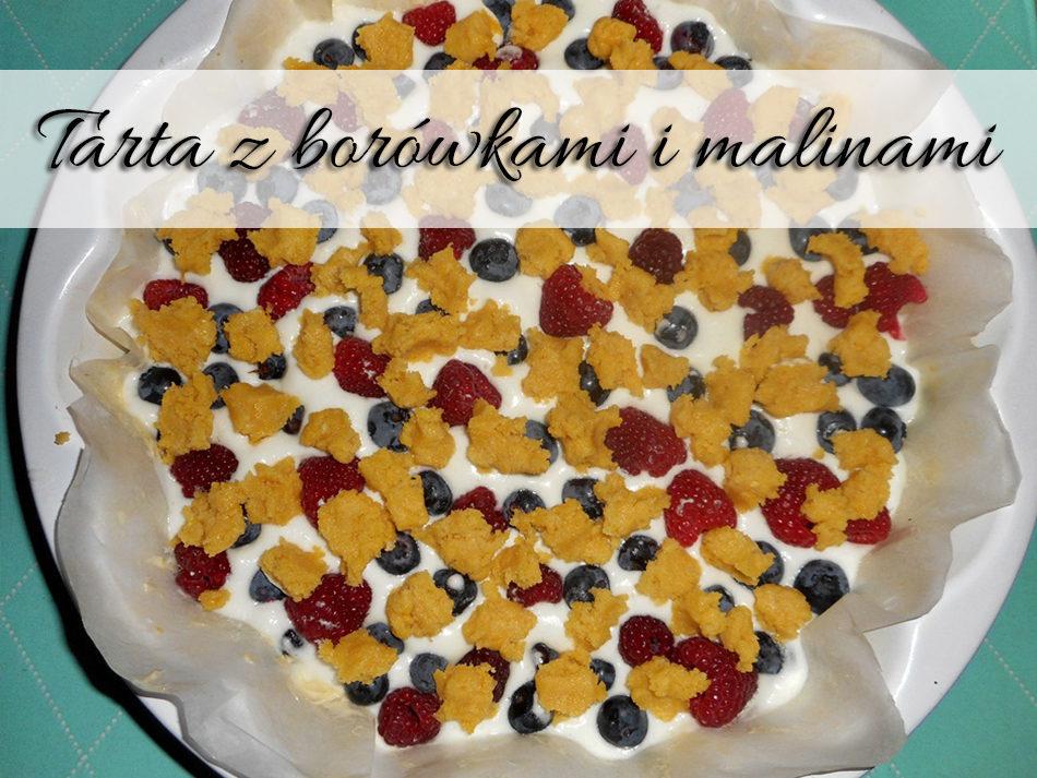 tarta-z-borowkami-i-malinami