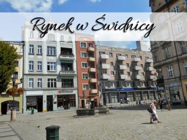 Rynek w Świdnicy. Zajrzyj też na wieżę ratuszową i podziwiaj miasto