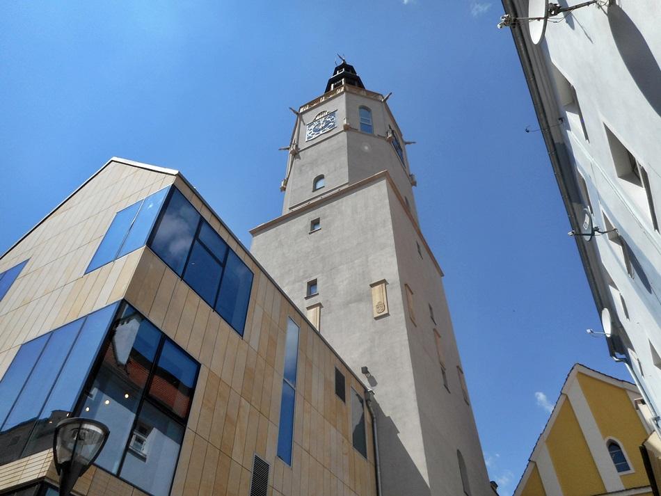 Wieża ratuszowa w Świdnicy
