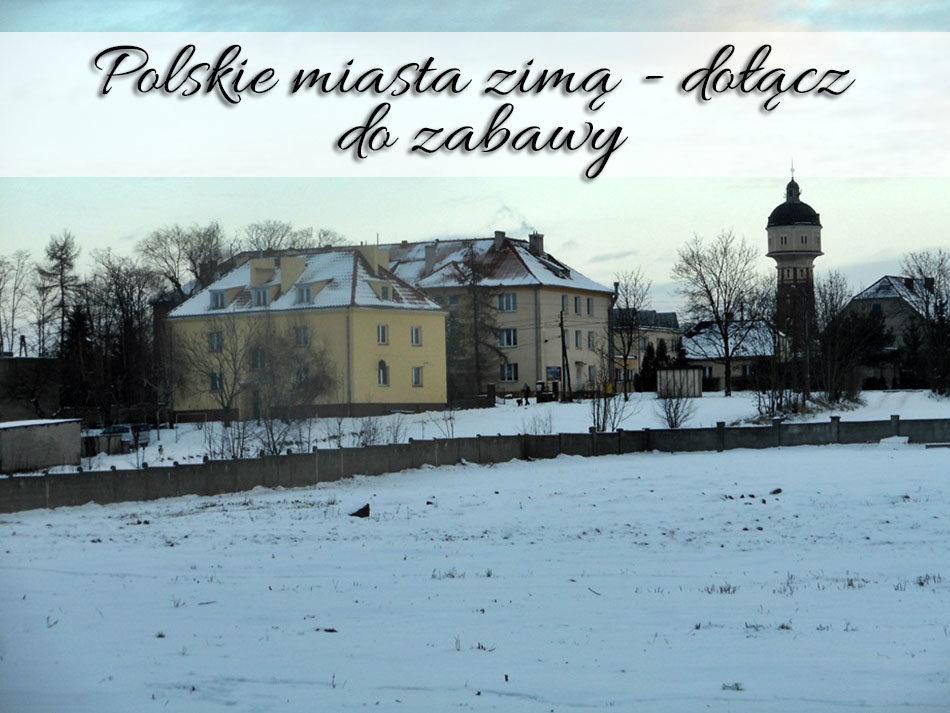 Polskie miasta zimą - dołącz do zabawy
