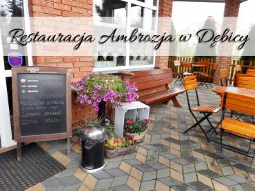 Restauracja Ambrozja w Dębicy. Idealna na niedzielny obiad