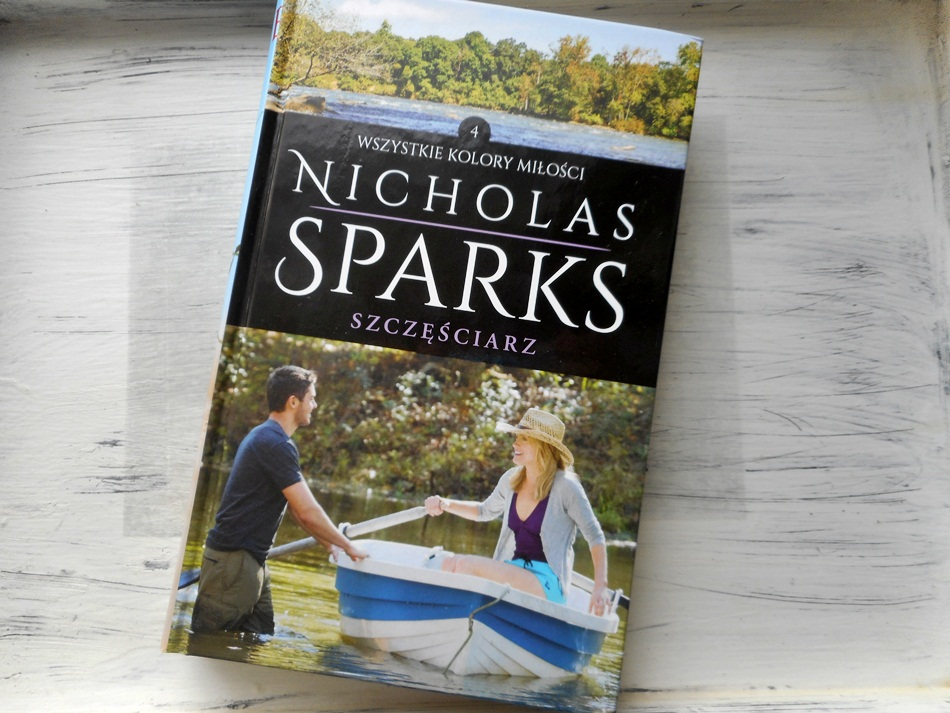 """,,Szczęściarz"""" Nicholas Sparks"""