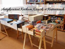 Antykwariat Kocham książki w Katowicach. Przygotuj się na spore wydatki