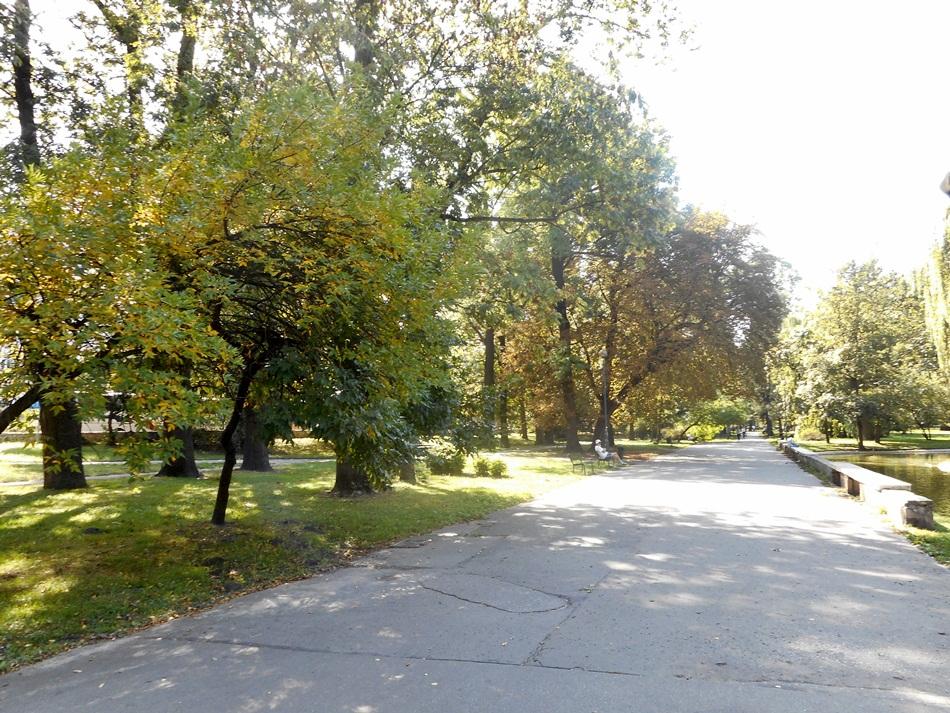 Park krakowski w Krakowie