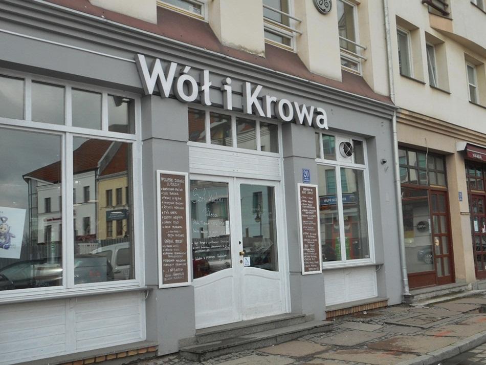 Wół i Krowa w Szczecinie