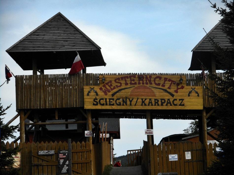 Western City niedaleko Karpacza