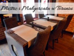 Mistrz i Małgorzata w Toruniu. Wersja książkowa w toruńskim lokalu