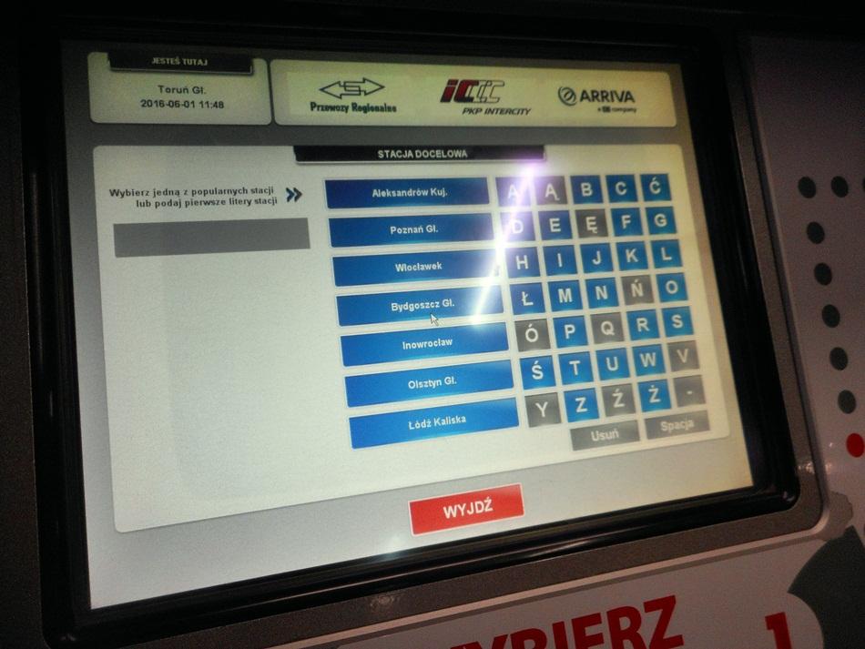 Czy kupować bilety w biletomacie?