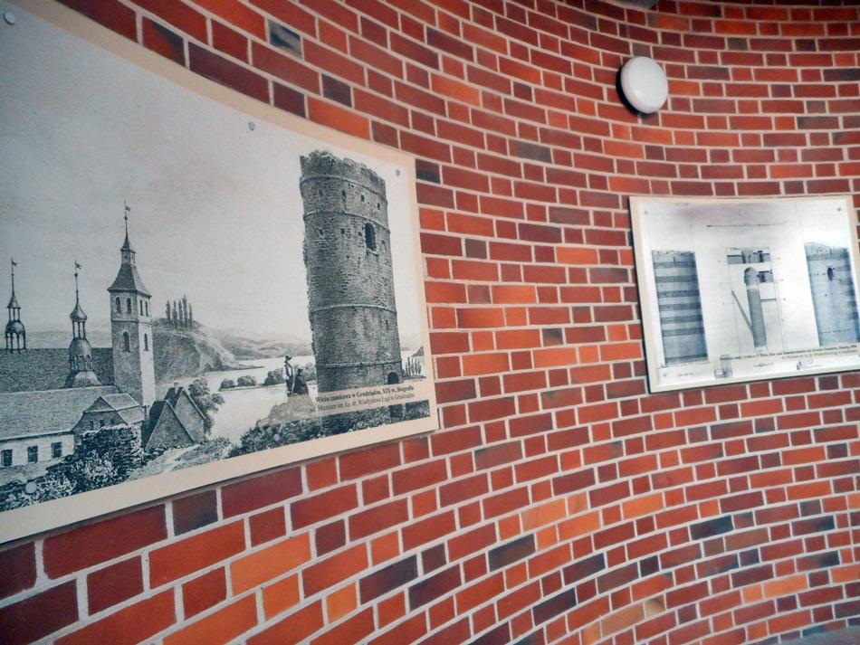 Góra zamkowa i wieża Klimek w Grudziądzu