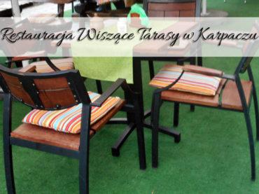 Restauracja Wiszące Tarasy w Karpaczu