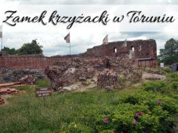 Zamek krzyżacki w Toruniu. Przygotuj się na zwiedzanie podziemi