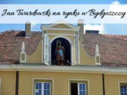 Jan Twardowski na rynku w Bydgoszczy. Tylko dwa razy dziennie!