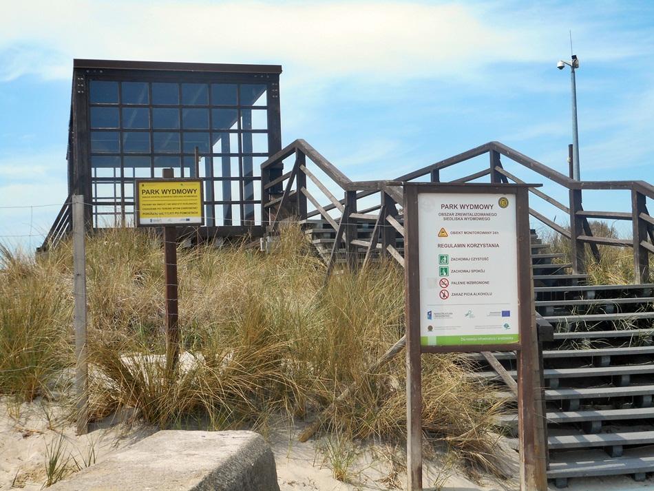 Park wydmowy na Helu