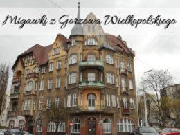 Migawki z Gorzowa Wielkopolskiego. Kilka kadrów z tego miasta