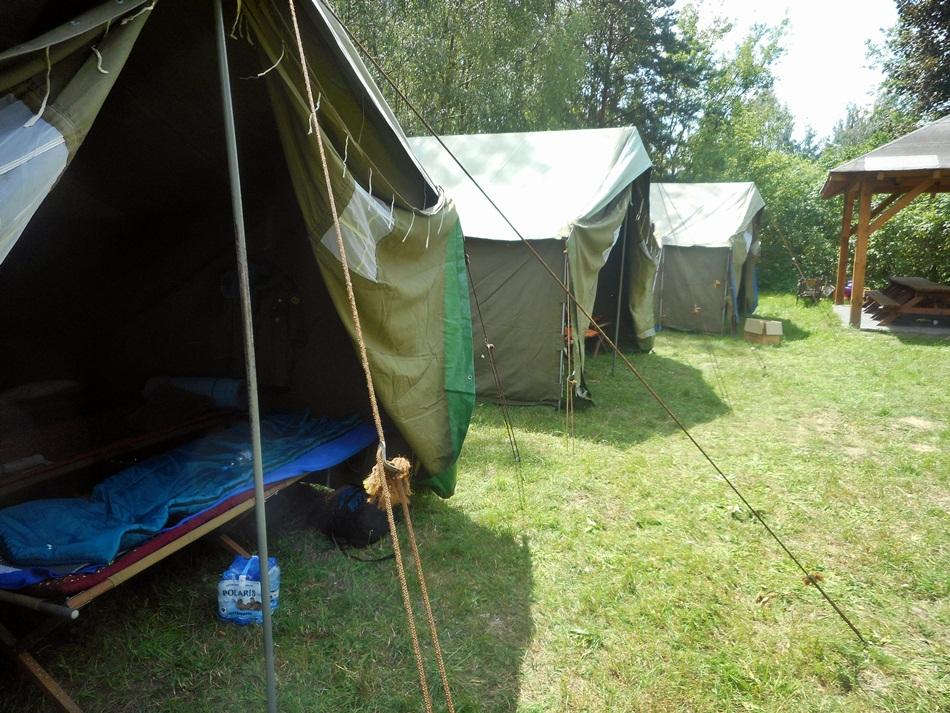 Korzyści biwaku pod namiotami