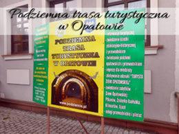 Podziemna trasa turystyczna w Opatowie. A może staniesz się księżniczką lub rycerzem?