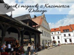 Rynek w Kazimierzu Dolnym. Ileż tam kogutów!