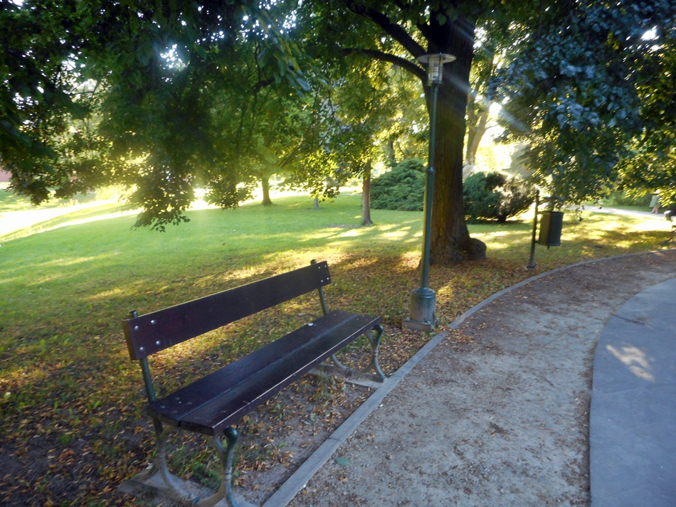Park miejski w Zamościu
