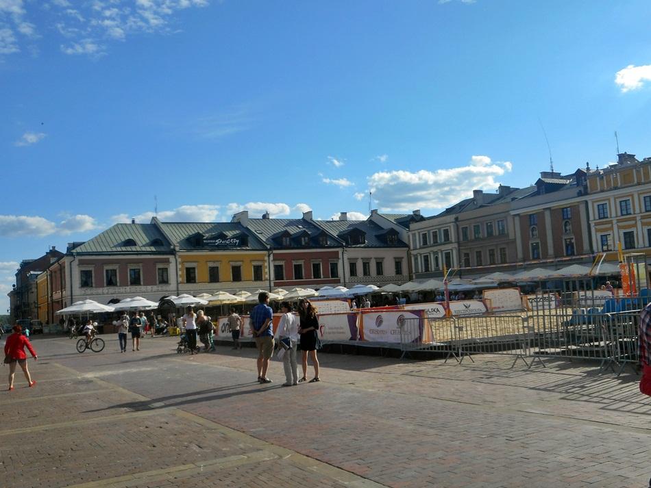 Rynek w Zamościu