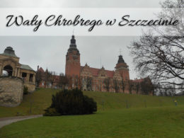 Wały Chrobrego w Szczecinie. Miejsce chętnie odwiedzane przez mieszkańców