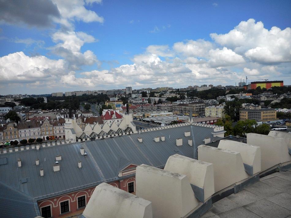 Wieża widokowa na zamku w Lublinie