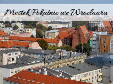 Mostek Pokutnic we Wrocławiu. Widok z góry robi wrażenie