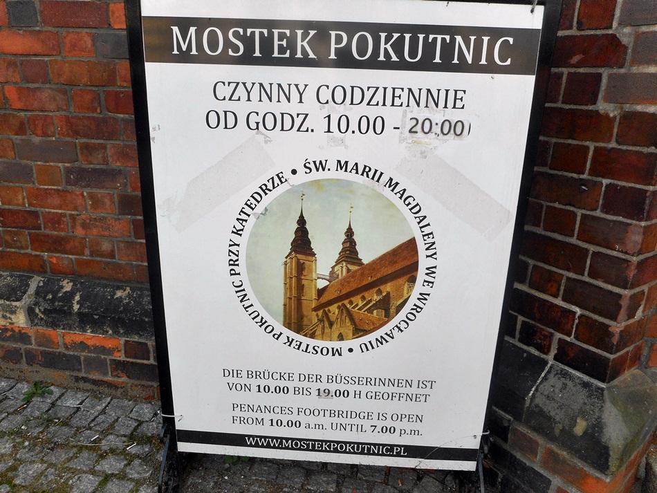 Mostek Pokutnic we Wrocławiu