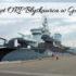 Okręt ORP Błyskawica w Gdyni. Jeden z ciekawszych statków, które widziałyśmy