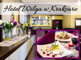 Hotel Wilga w Krakowie. Nieco dalej od rynku