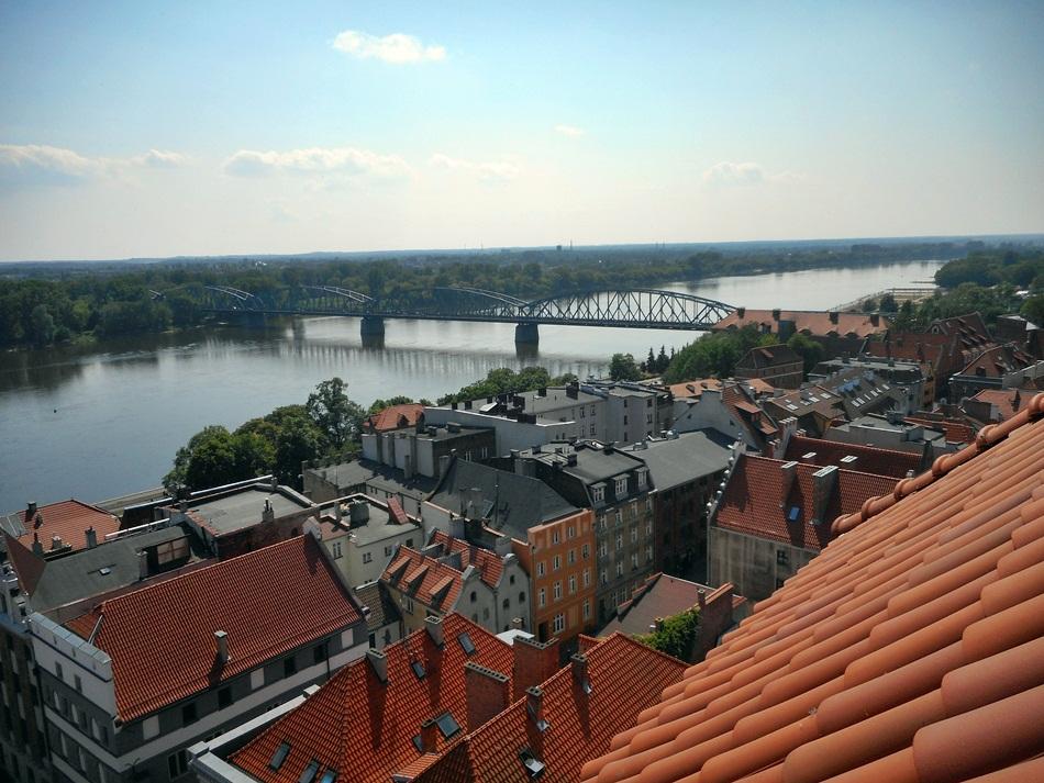 Katedra św. Janów i wieża widokowa w Toruniu