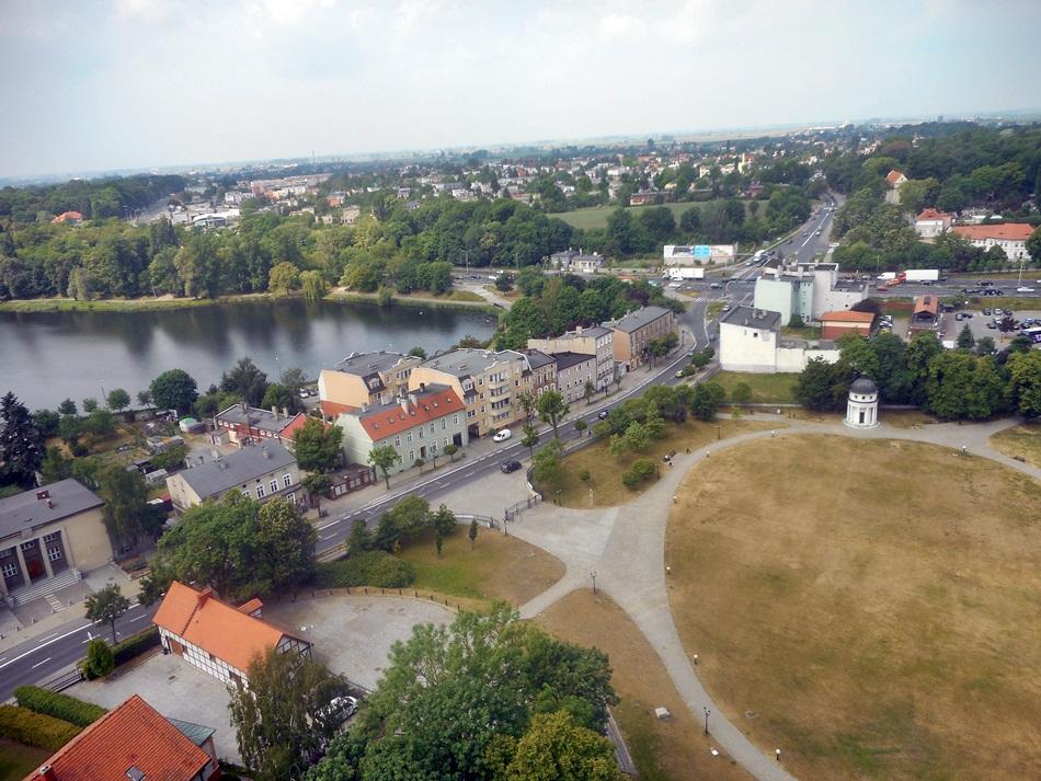 Punkt widokowy w Gnieźnie (Katedra)