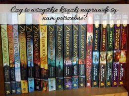 Czy te wszystkie książki naprawdę są nam potrzebne? Czy też lubisz otaczać się woluminami?