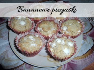 Bananowe pieguski