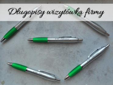 Długopisy wizytówką firmy