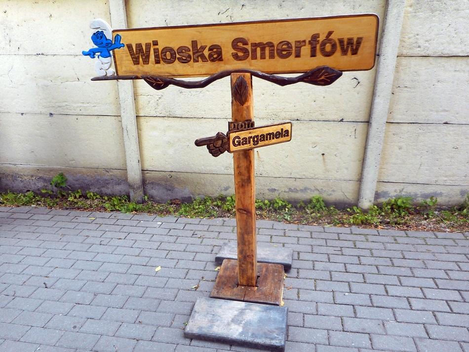 Wioska Smerfów w Kłecku