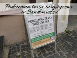Podziemna trasa turystyczna w Sandomierzu. Mini wystawa porcelany z Ćmielowa
