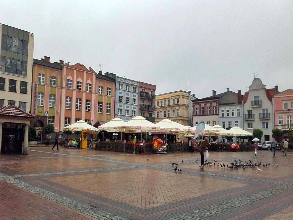 Rynek w Chojnicach