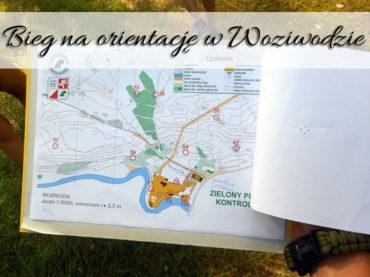 Bieg na orientację w Woziwodzie