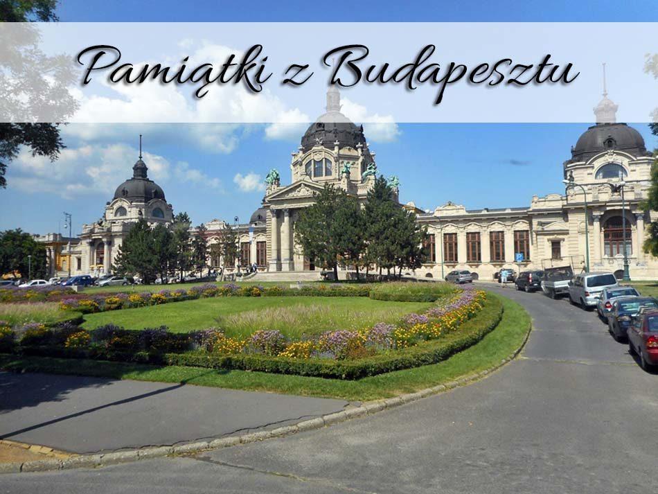 Pamiatki z Budapesztu
